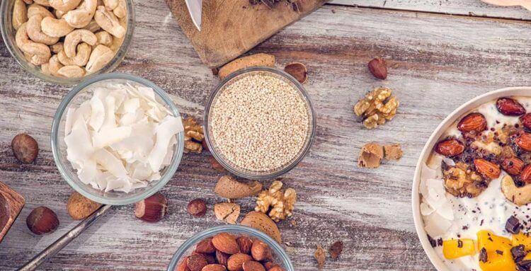 Consumo de frutos secos para la salud