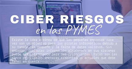Infografía: Ciber riesgos en las pymes