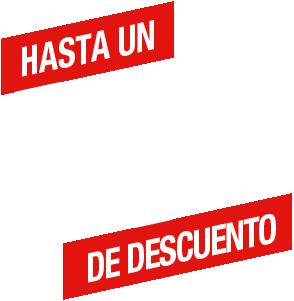 Hasta un 25% de descuento