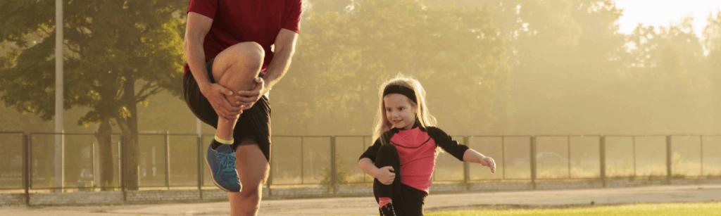 Cómo ayudar a tus hijos a empezar a correr