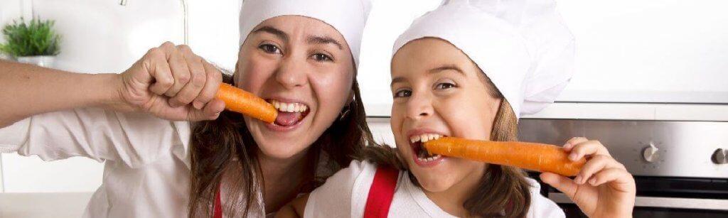 Alternativas a la comida rápida saludables para niños