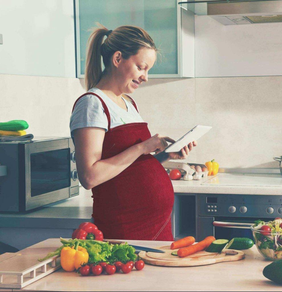 La dieta sana y deliciosa perfecta para las futuras mamás