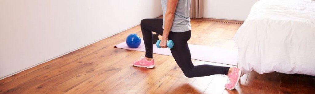 Ejercicios de interior que puedes hacer fuera del gimnasio