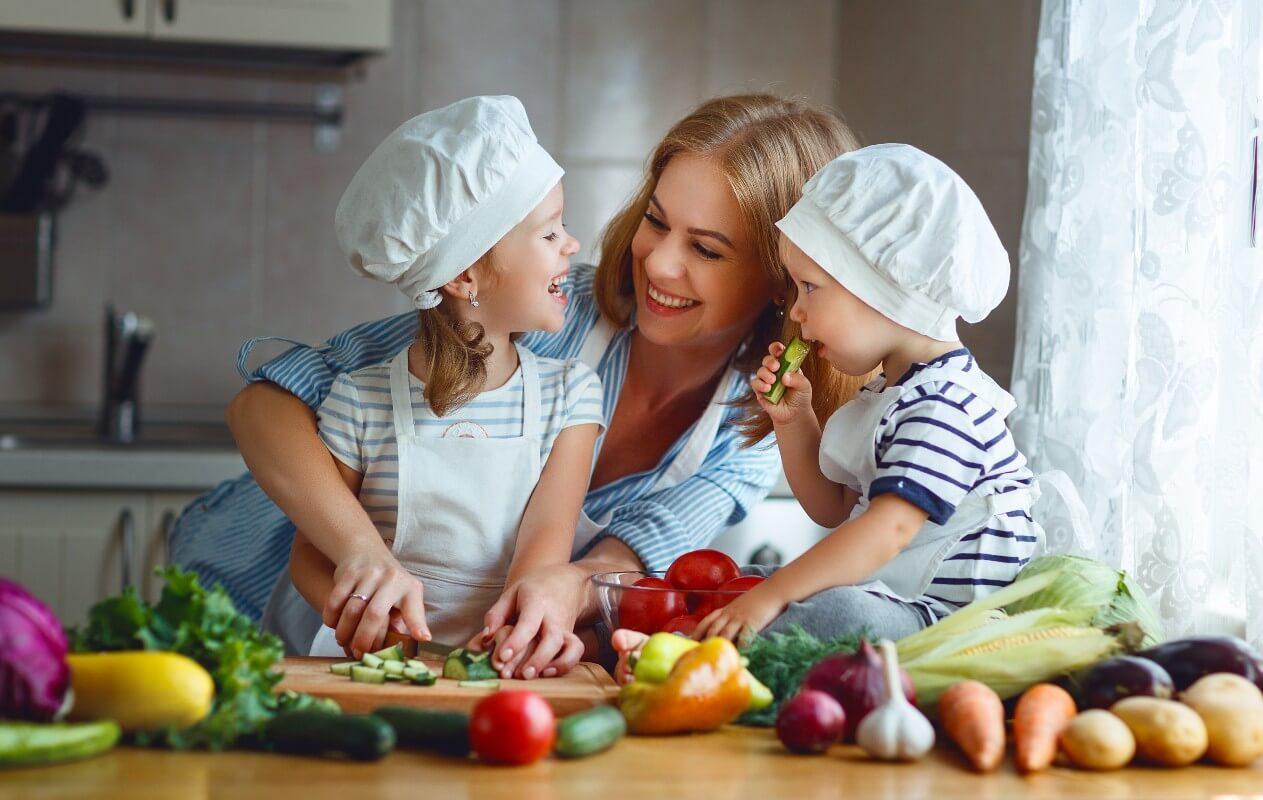 Cómo preparar una dieta equilibrada para niños de 3-12 años
