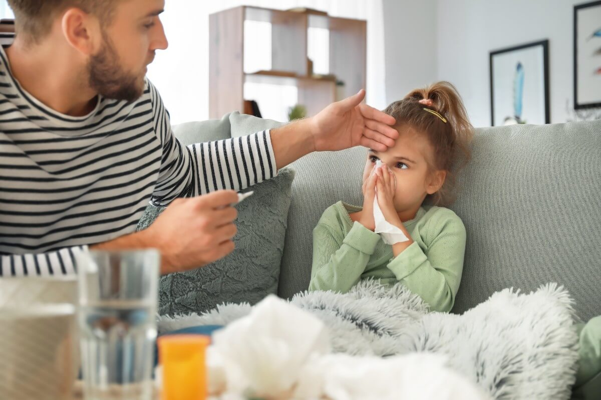 Gripe en niños: cómo tratarla y prevenirla a tiempo