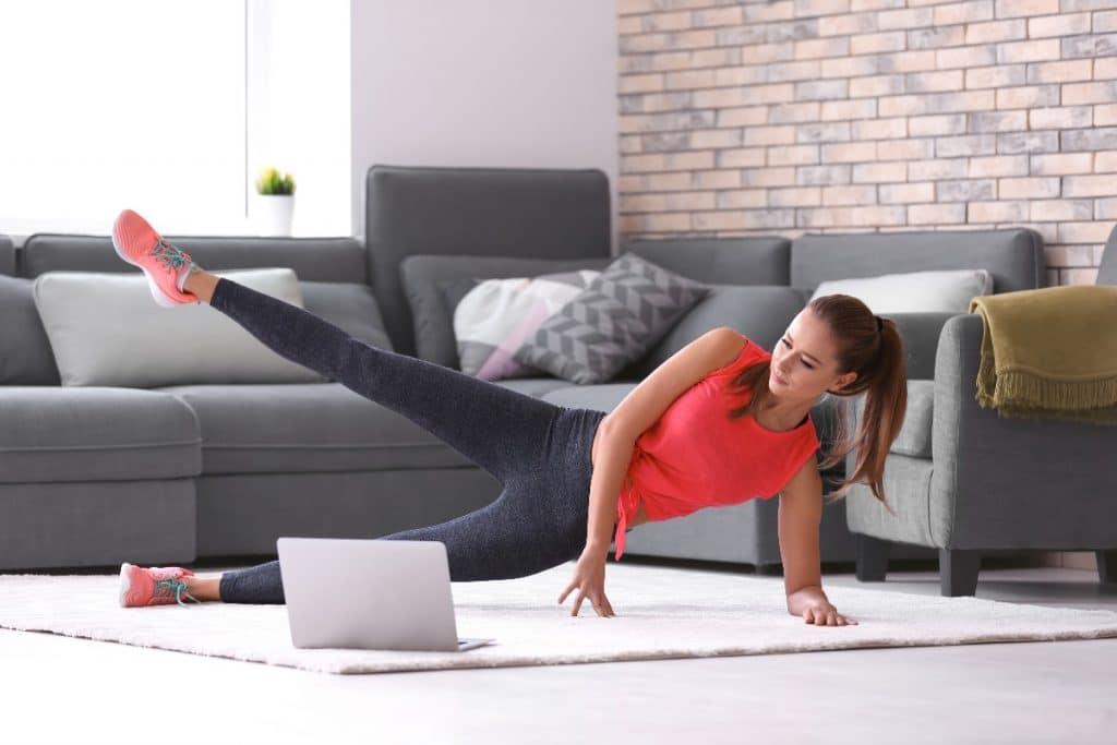 Tecnología para ponerte en forma desde casa